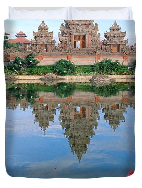 Bali, Nusa Dua Duvet Cover by Rita Ariyoshi - Printscapes