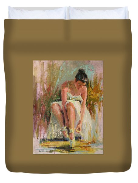 Ballerina Duvet Cover by David Garrison