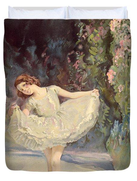 Ballet Duvet Cover by Septimus Edwin Scott