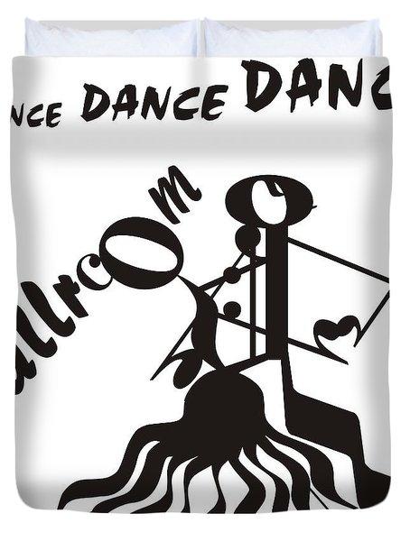 Ballroom Duvet Cover by Maria Watt