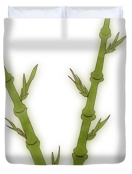 Bamboo Duvet Cover by Frank Tschakert