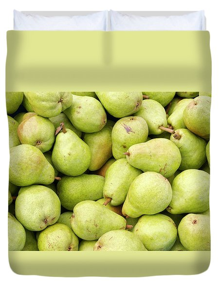 Bartlett Pears Duvet Cover by John Trax