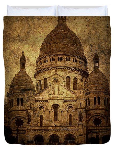 Basilica Duvet Cover by Andrew Paranavitana
