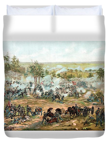 Battle of Gettysburg Duvet Cover by War Is Hell Store