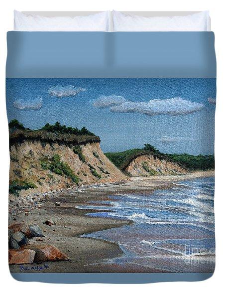 Beach Duvet Cover by Paul Walsh