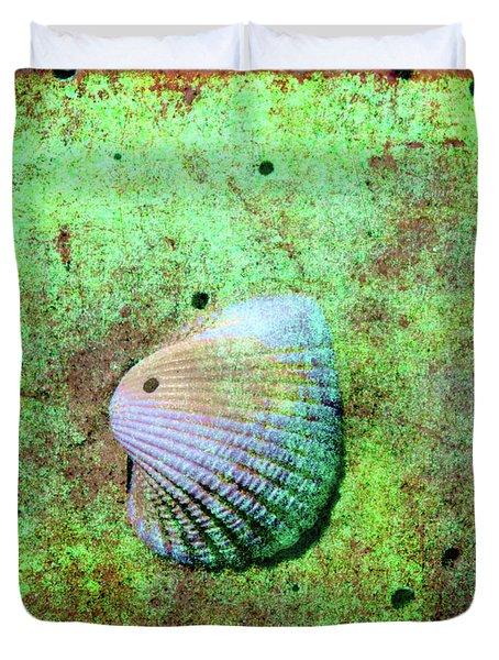 Beach Treasure Duvet Cover by Susanne Van Hulst