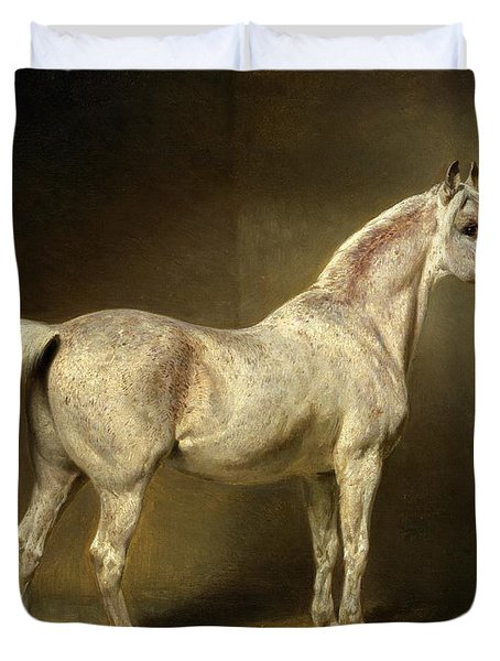 Beatrice Duvet Cover by Carl Constantin Steffeck