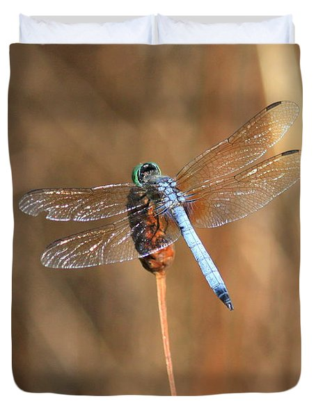 Beautiful Broken Wing Duvet Cover by Carol Groenen