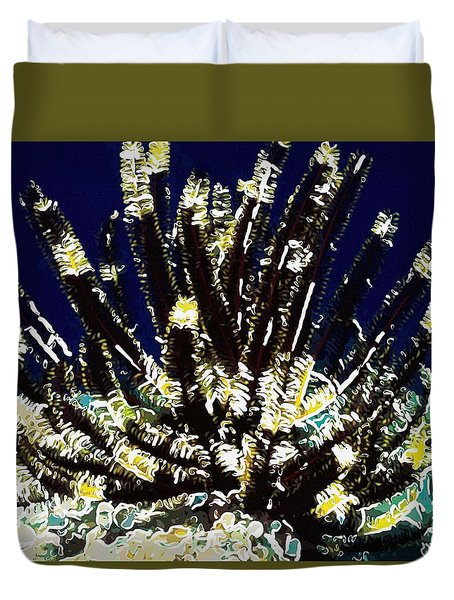 Beautiful marine plants 10 Duvet Cover by Lanjee Chee
