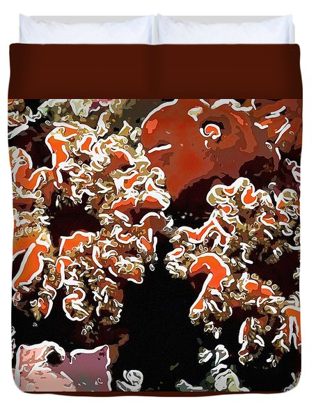 Beautiful Marine Plants 5 Duvet Cover by Lanjee Chee