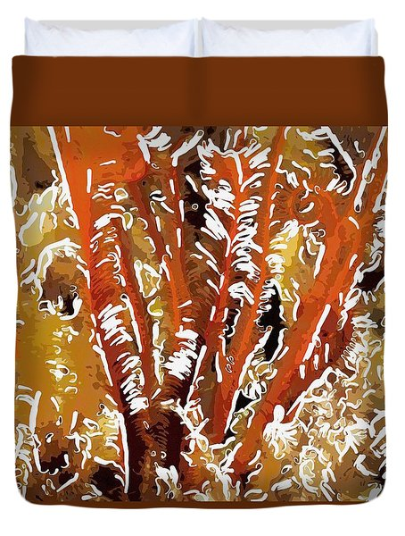 Beautiful marine plants 8 Duvet Cover by Lanjee Chee