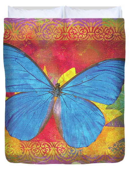 Beauty Queen Butterfly Duvet Cover by JQ Licensing