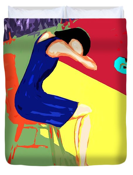 Behind Closed Doors Duvet Cover by Patrick J Murphy