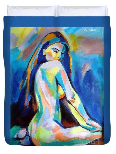 Belle Duvet Cover by Helena Wierzbicki