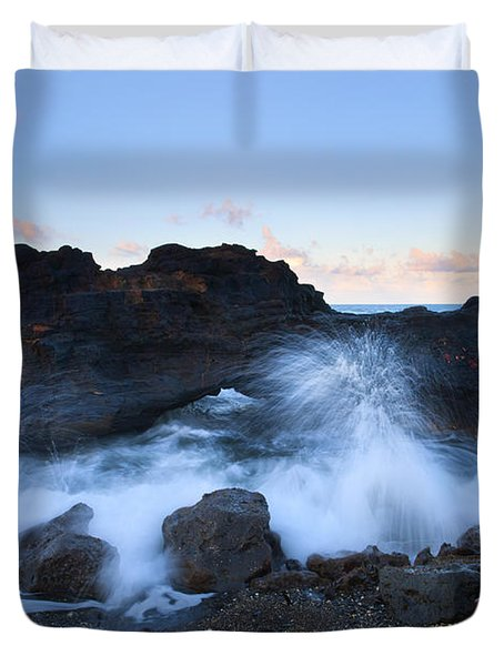 Beneath The Arch Duvet Cover by Mike  Dawson