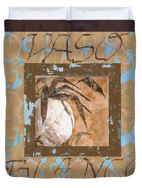 Bianco Vinaccia Duvet Cover by Guido Borelli