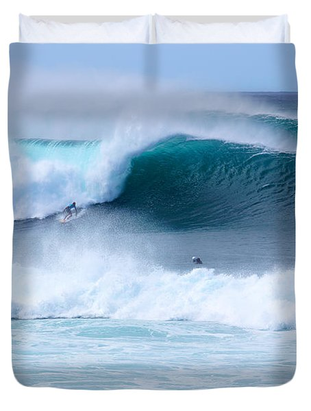 Big Pipeline Pro Duvet Cover by Kevin Smith