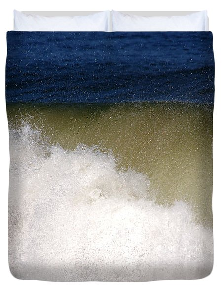 Big Waves Duvet Cover by Susanne Van Hulst