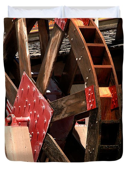 Big Wheels keep on turning Duvet Cover by LeeAnn McLaneGoetz McLaneGoetzStudioLLCcom