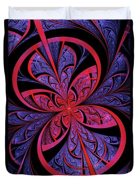 Bipolar Duvet Cover by John Edwards