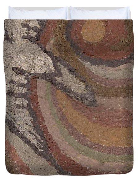 Bird Of Desert Sand Duvet Cover by Dawn Senior-Trask