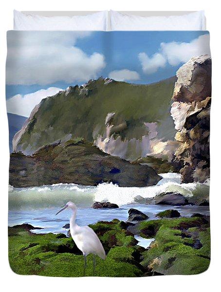 Bird's Eye View Duvet Cover by Kurt Van Wagner
