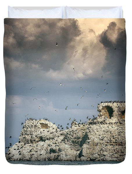 Birds Island Duvet Cover by Joana Kruse