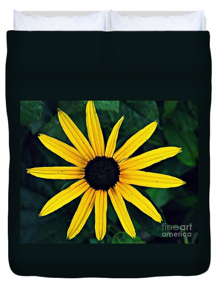 Black-eyed Susan Duvet Cover by Sarah Loft
