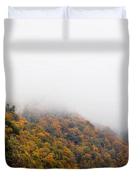 Blanket Of Clouds Duvet Cover by DigiArt Diaries by Vicky B Fuller