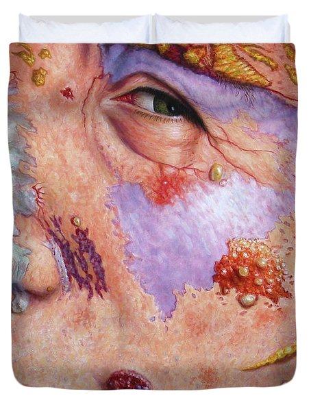 Blindsided Duvet Cover by James W Johnson
