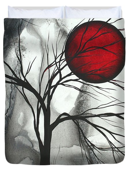 Blood Of The Moon 2 By Madart Duvet Cover by Megan Duncanson