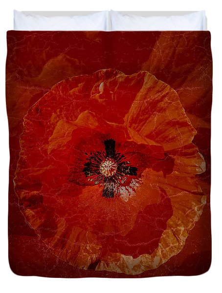 Bloody Mary Duvet Cover by Mona Stut