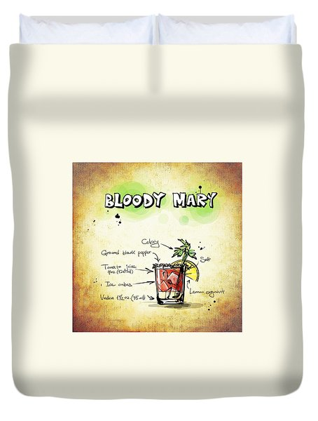 Bloody Mary Duvet Cover by Movie Poster Prints