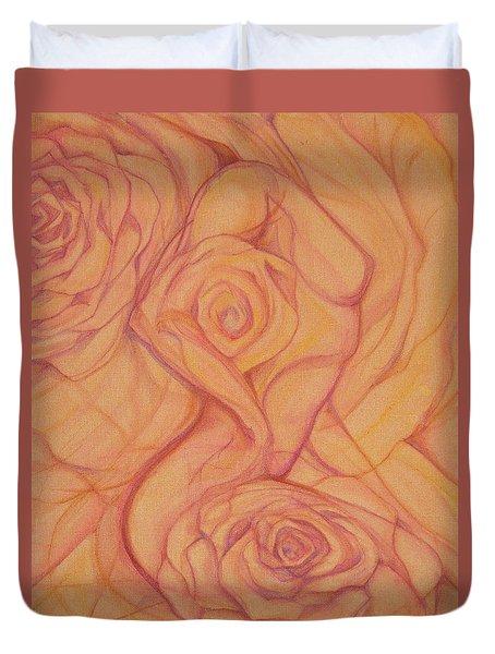 Blossom Duvet Cover by Caroline Czelatko