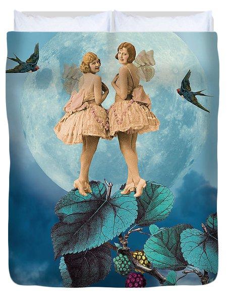 Blue Moon Duvet Cover by Olga Snell