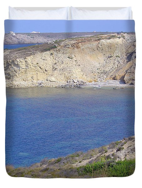 Blue Wonder  Duvet Cover by Rod Johnson