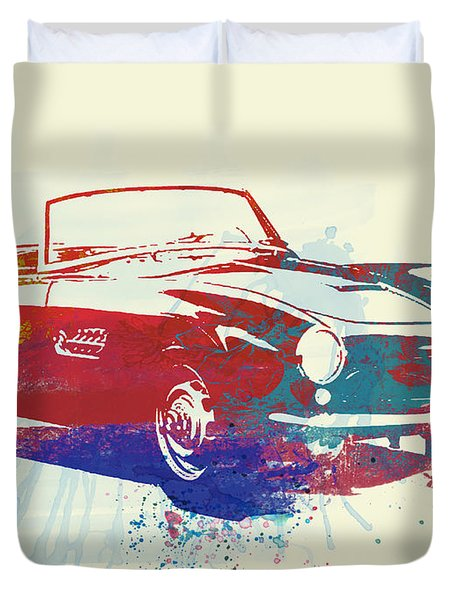 Bmw 507 Duvet Cover by Naxart Studio