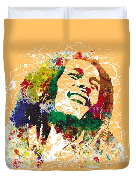 Bob Marley Duvet Cover by Gary Grayson