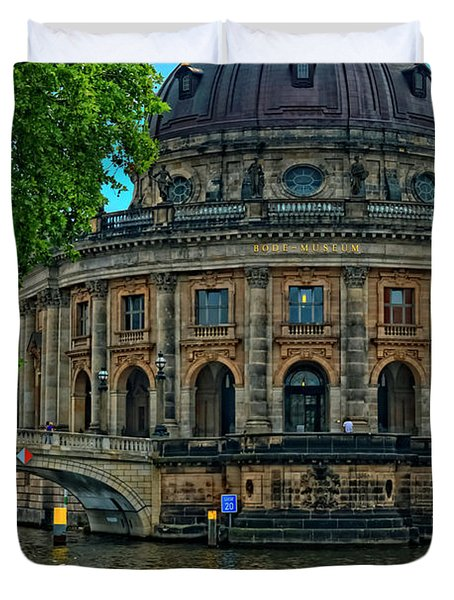 Bode Museum Duvet Cover by Joan Carroll