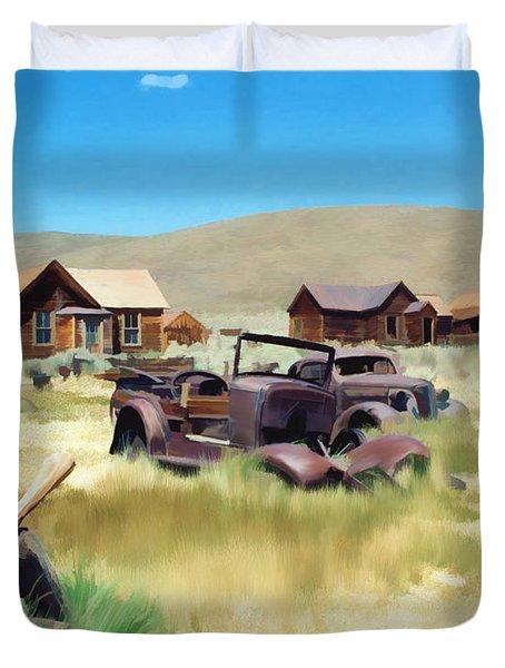 Bodie Duvet Cover by Kurt Van Wagner
