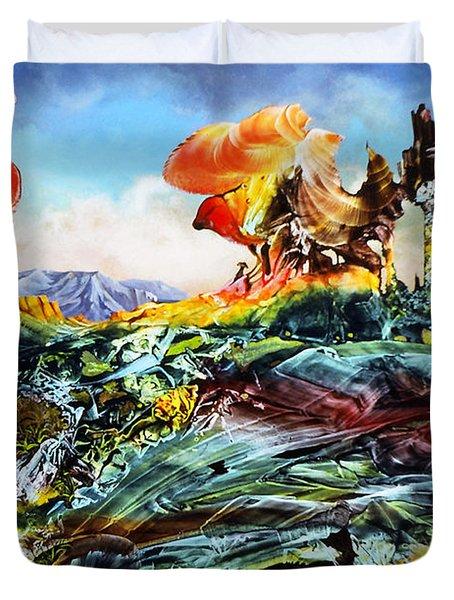 Bogomil Landscape Duvet Cover by Otto Rapp
