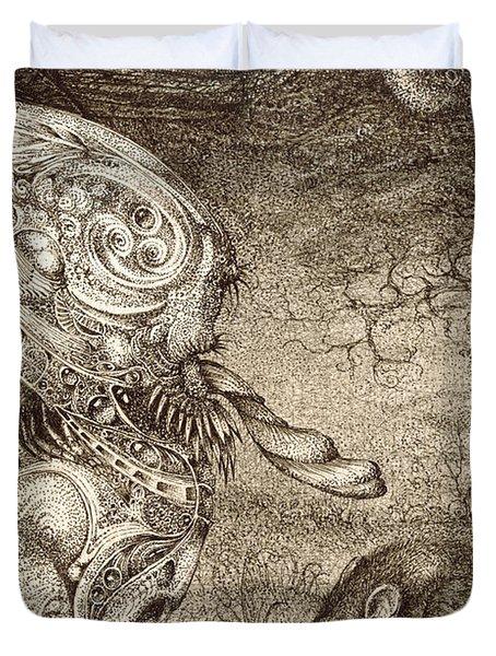 Bogomils Mousetrap Duvet Cover by Otto Rapp