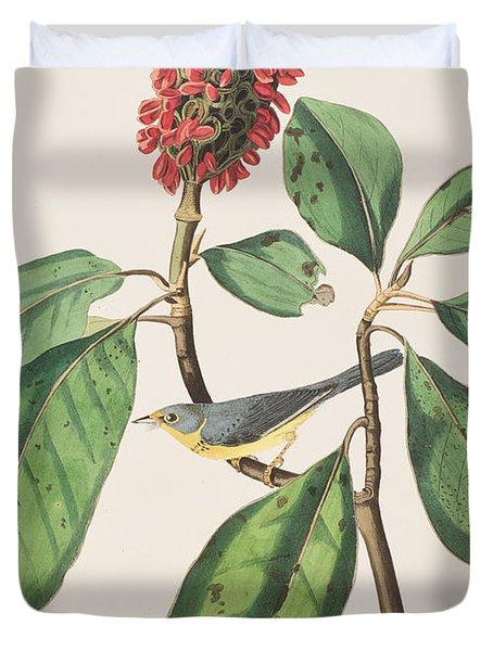 Bonaparte's Flycatcher Duvet Cover by John James Audubon