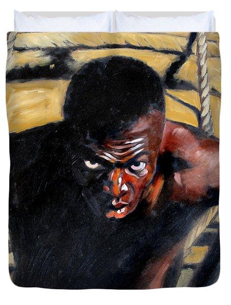 Bondage Duvet Cover by John Lautermilch