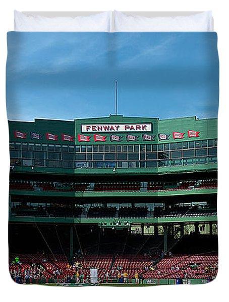 Boston's Gem Duvet Cover by Paul Mangold