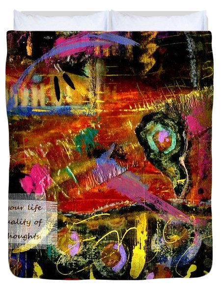 Brazilian Festival Duvet Cover by Angela L Walker