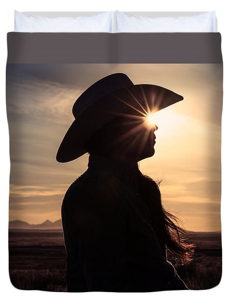 Bright Eyes Duvet Cover by Todd Klassy