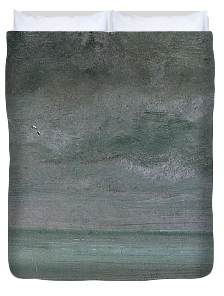 Brighton Beach Duvet Cover by John Constable