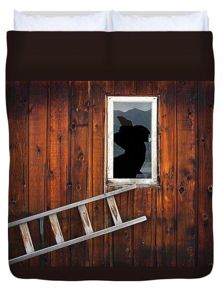 Broke Duvet Cover by Wayne Sherriff
