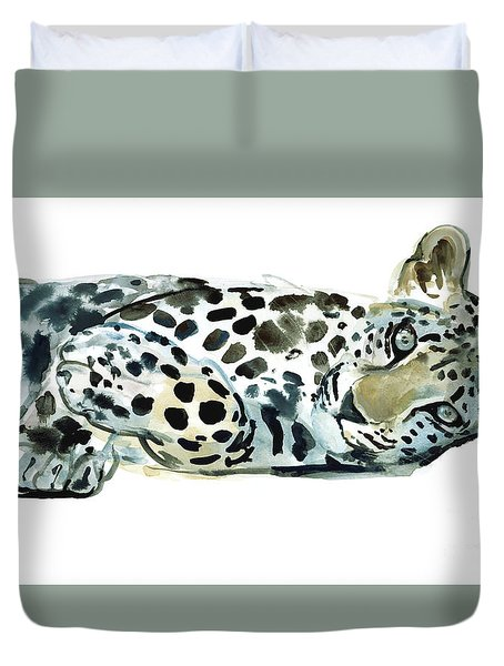 Broken Siesta Duvet Cover by Mark Adlington